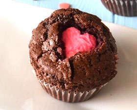 Muffin di San Valentino