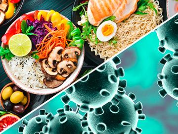 Coronavirus-Alimenti