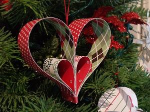 Decorazioni Per Casa Di Natale : Decorazioni per l albero di natale fatte col cuore feste