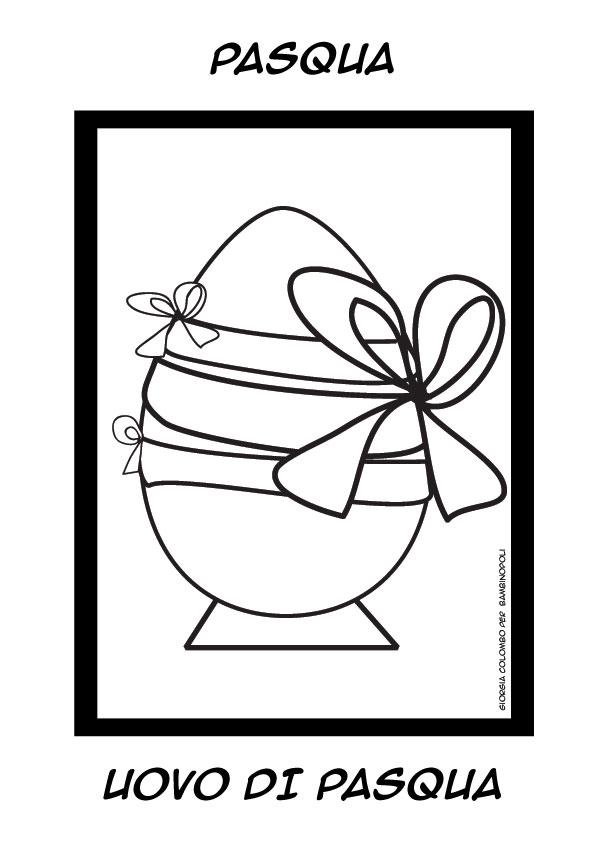 Disegni Da Colorare Le Uova Di Pasqua Bambinopoli