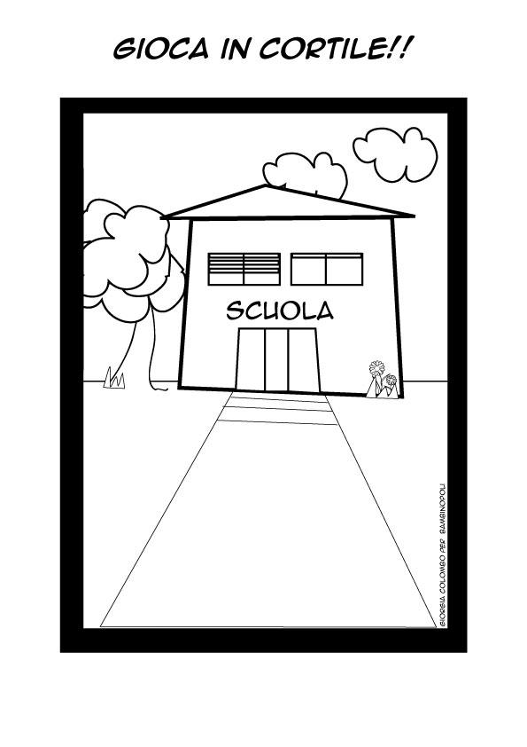 Clicca e stampa il disegno - Torna a scuola da colorare ...