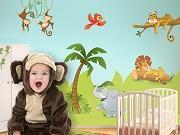 La stanza del neonato neonato bambinopoli for Decorazioni stanza neonato