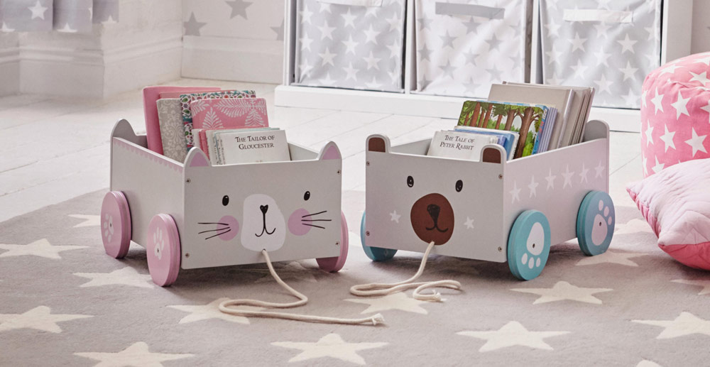 Le toy boxes di little great per razionalizzare lo spazio for Box bimbi ikea