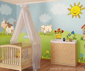 Commenta questo articolo - Decorare la cameretta del neonato ...