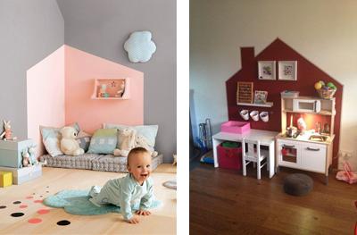 Idee Pareti Cameretta Neonato : 3 idee per decorare la cameretta dei bambini età prescolare