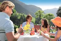 Hotel Cavallino Bianco: colazione in famiglia