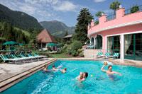 Hotel Cavallino Bianco, vista piscina