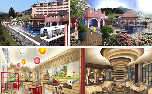Hotel Cavallino Bianco randering lavori estate 2013