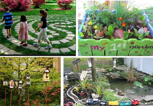 Idee Per Il Giardino Di Casa : Come attrezzare il giardino di casa per il bambino età prescolare