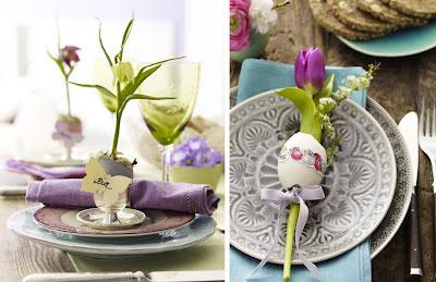 Decorazioni Pasquali Da Tavola : Come decorare la tavola pasquale feste bambinopoli