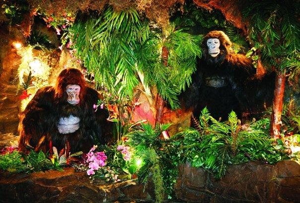 I ristoranti per bambini pi belli del mondo vacanze for Rainforest londra