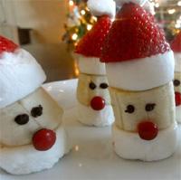 Babbo natale in bianco e rosso - Ricette che possono cucinare i bambini ...